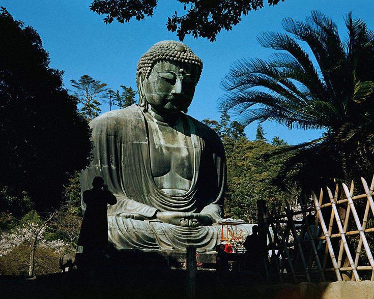 A statue of the Buddha in Japan
