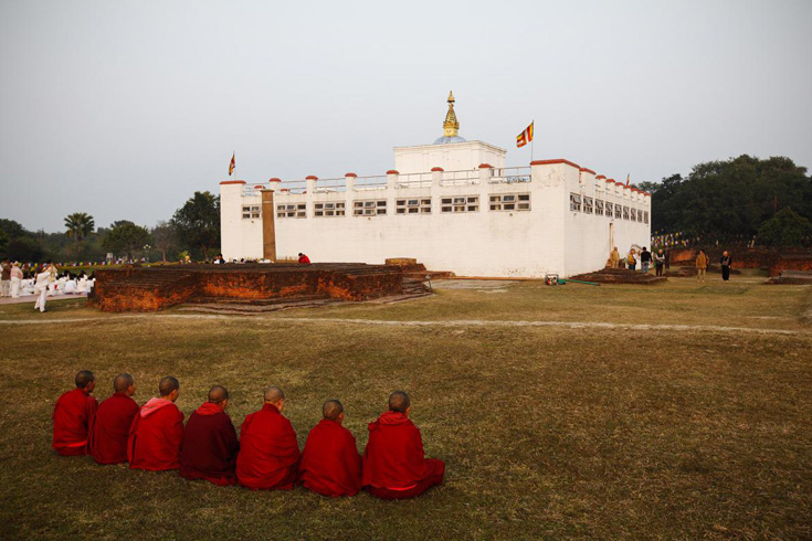 Lumbini - The birthplace of the buddha