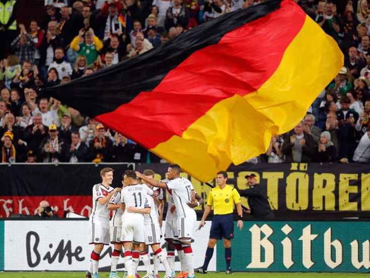UEFA Euro 2016 Germany Flag
