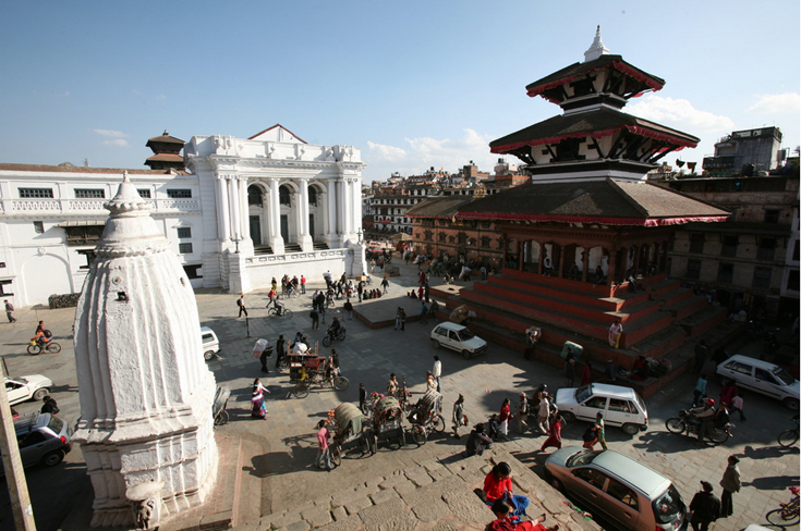 Kathmandu Durbar Square before the earthquake