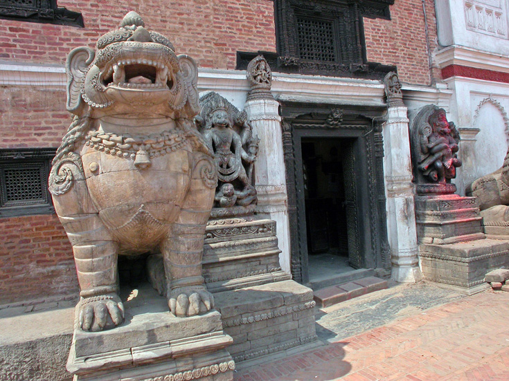 A masterpiece of artwork at Bhaktapur Durbar Square