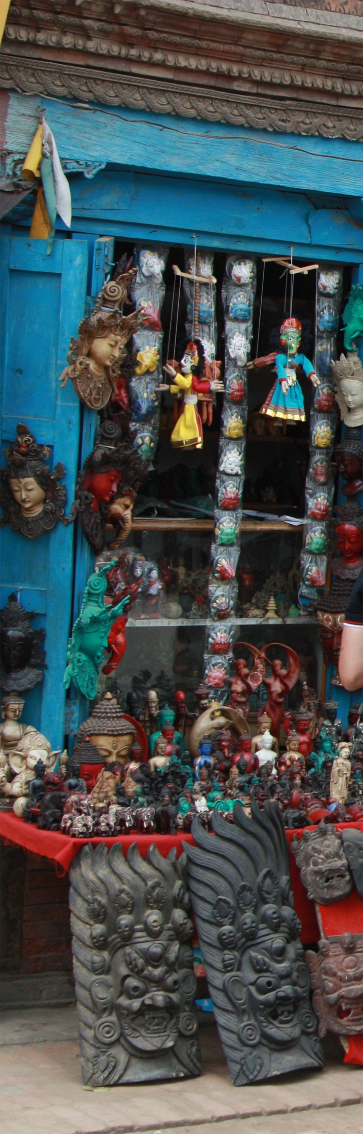 Typical souvenirs from Bhaktapur