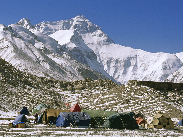 Everest Base Camp, Tibet