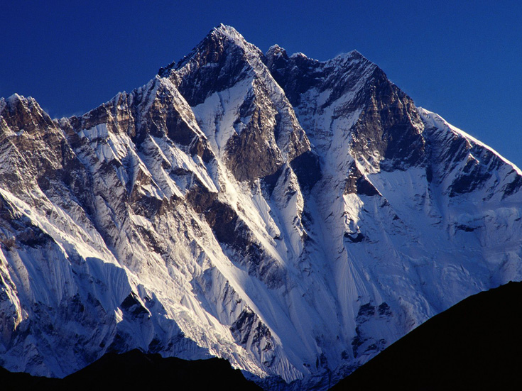 The Peak of Mount Lhotse, Tengpoche, Sagarmatha, Nepal