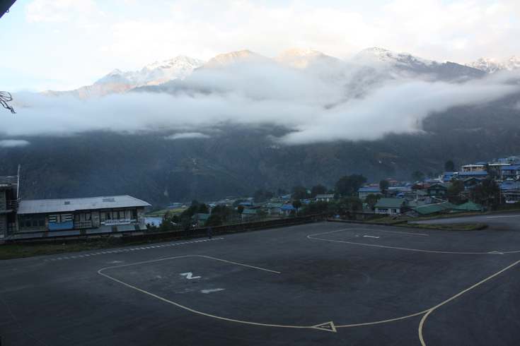 Tenzing-Hillary Airport also known as Lukla Airport