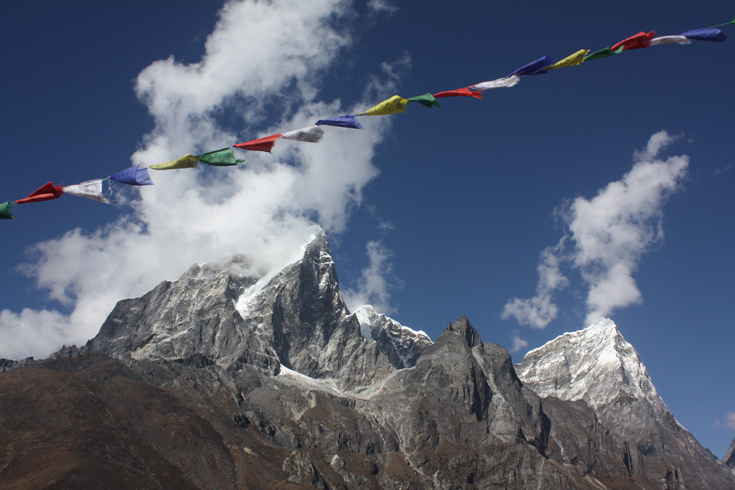 Mountains in Dingboche