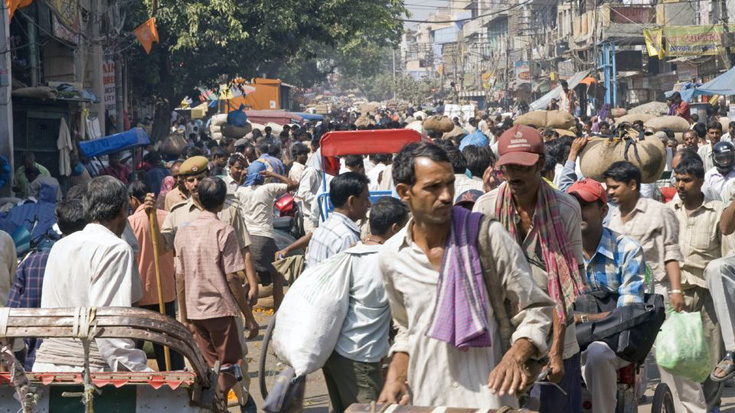 India to Surpass China's Population by 2022