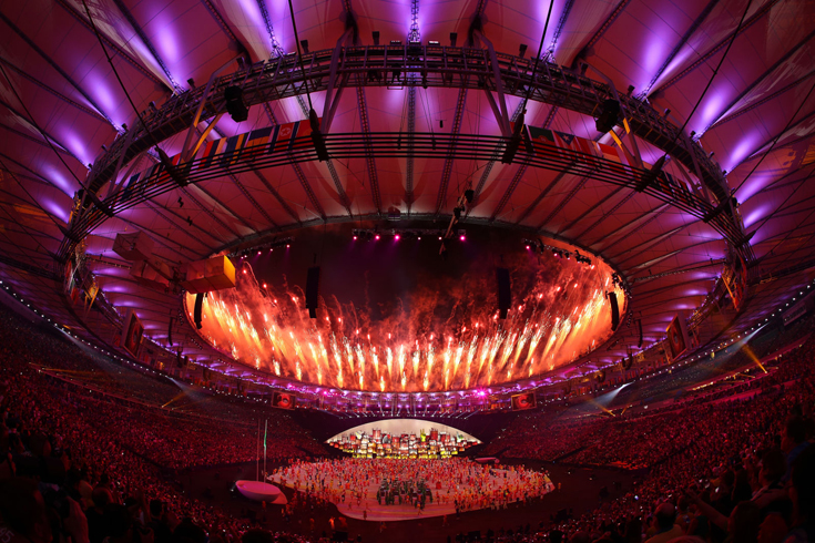 The opening ceremony of the 2016 Summer Olympic Games