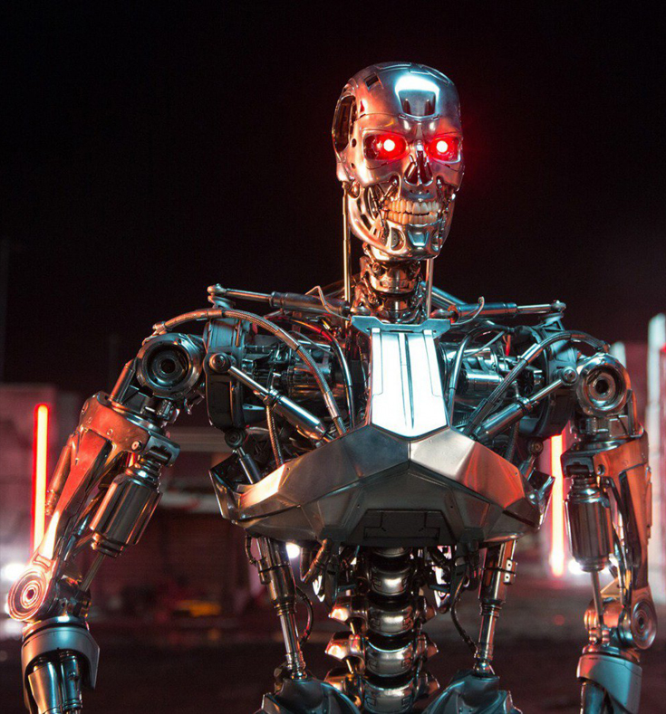 The Terminator (also known as T-800 and T-850) is a fictional autonomous robot from the Terminator franchise.