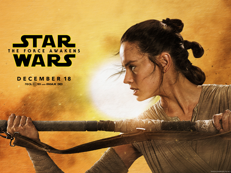 How Powerful is Rey - Star Wars: The Force Awakens
