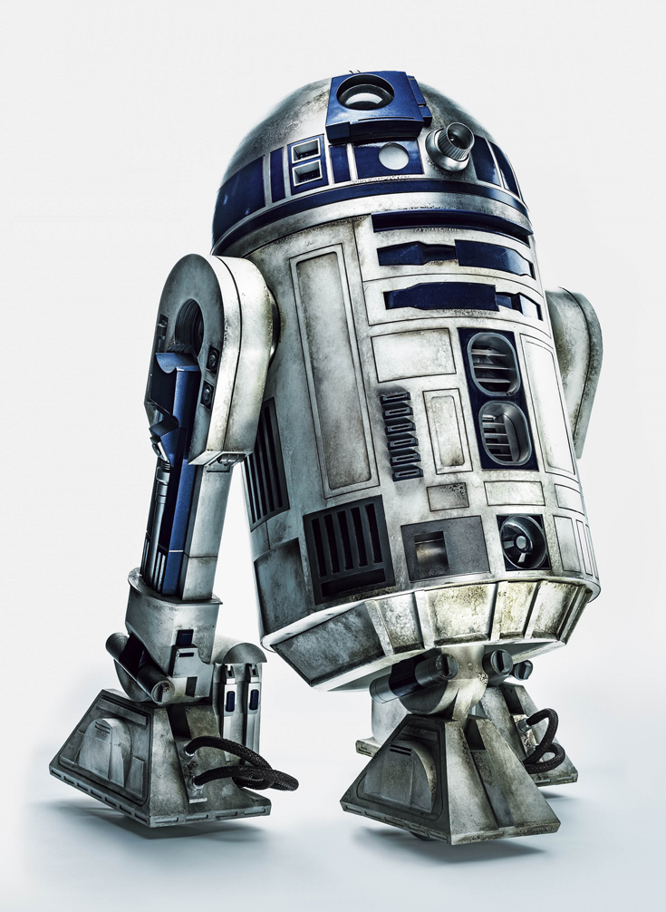 R2D2 - Star Wars : The Force Awakens