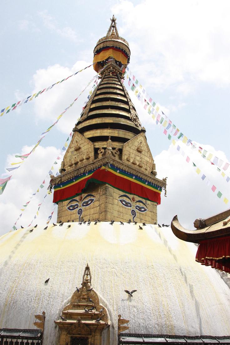 Swayambhunath Stupa   (Monkey Temple), Kathmandu, Nepal
