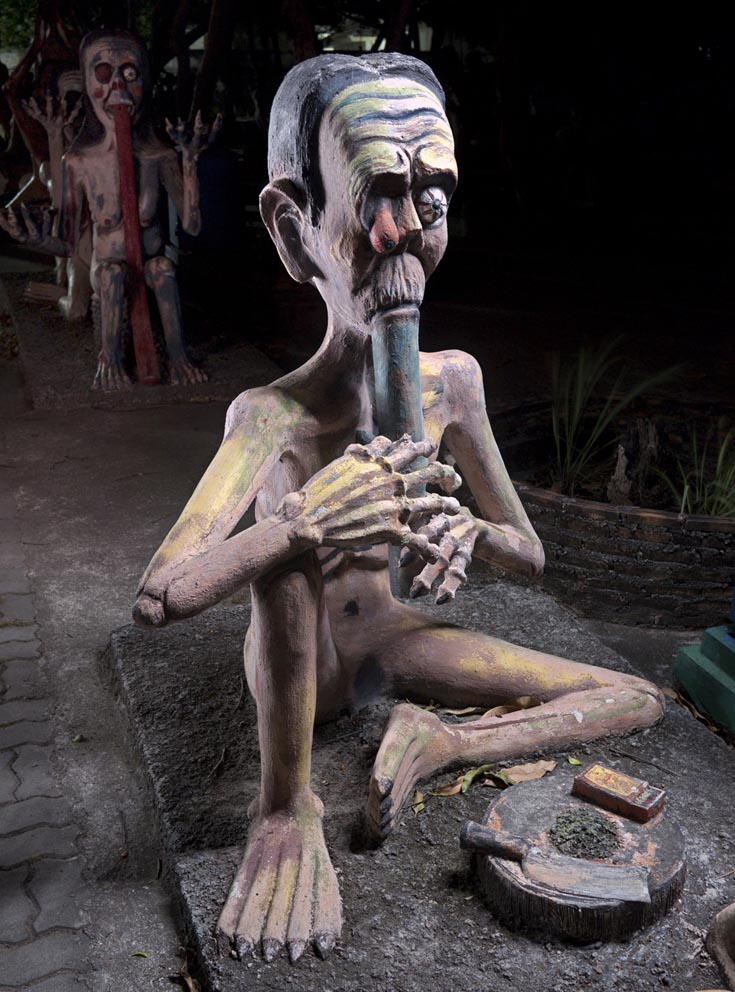 Wang Saen Suk Hell Garden and Thailand Hell Horror Park