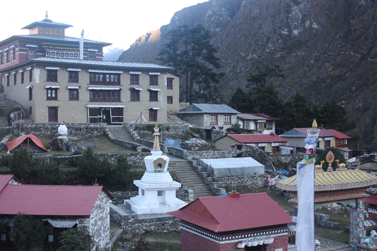 Tengboche Monastery in the Khumbu region of eastern Nepal