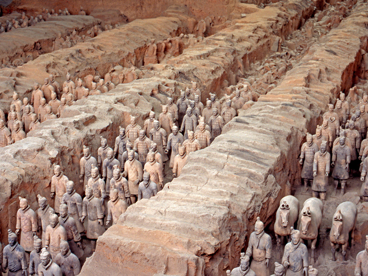 Terracotta Army, Mausoleum of the First Qin Emperor, China